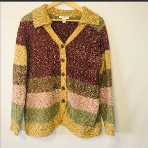 Dress Barn Sweater 1X Multicolor